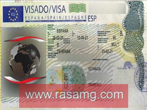 نمونه کارت اقامت تمکن مالی اسپانیا 1