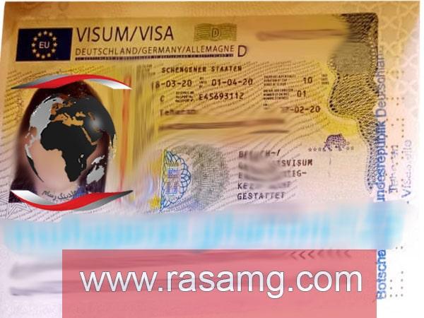 ویزای آلمان 1