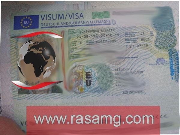 ویزای آلمان 6